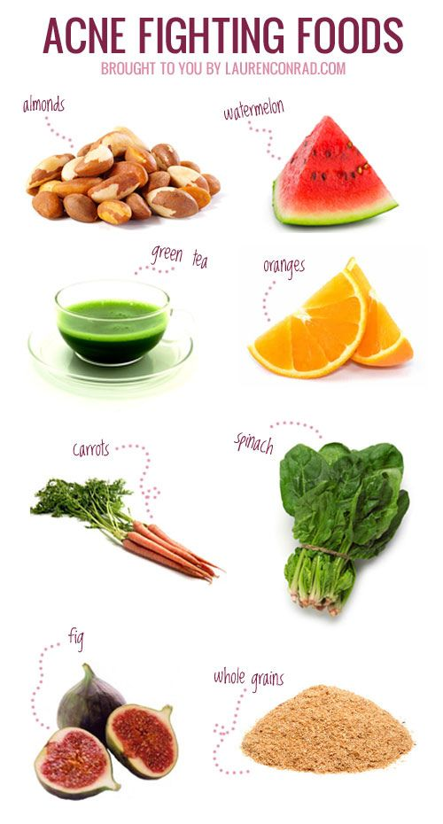 Natural Acne Fighting Foods